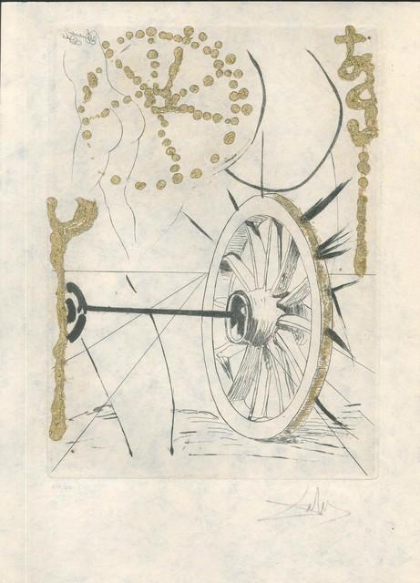 "Salvador Dalí, 'Bonne Fortune et Fortune - from ""Les Amours Jaunes""', 1974, Wallector"