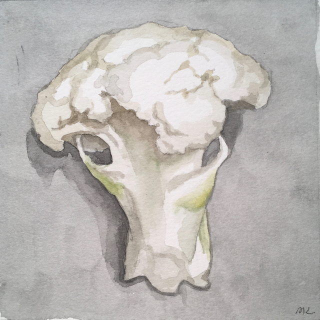 , 'Cauliflower,' 2017, Clyde Hogan Fine Art