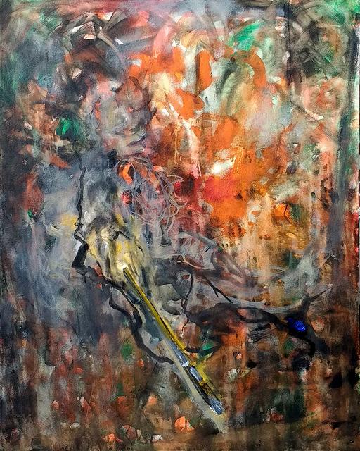 , 'Schlafender Maler,' 2016, Galerie Stephan Witschi