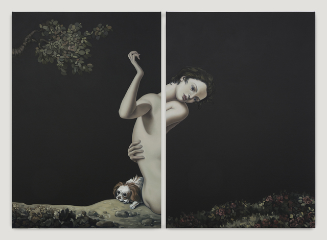 Jesse Mockrin, 'Among the leaves', 2017, Night Gallery