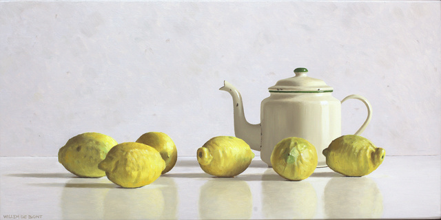 , 'Teapot and 6 lemons,' 2018, Smelik & Stokking Galleries