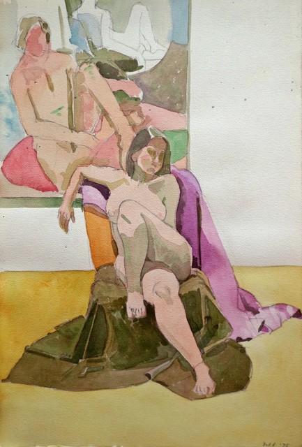 , 'Figure in the Studio,' 1975, Gallery Neptune & Brown