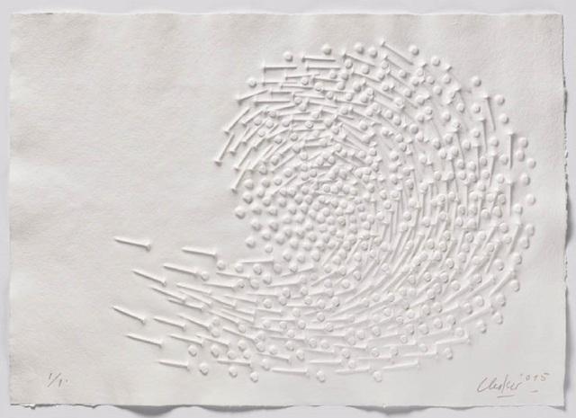 Günther Uecker, 'Huldigung an Hafez - Motiv 42', 2015-2015, Korff Stiftung GmbH