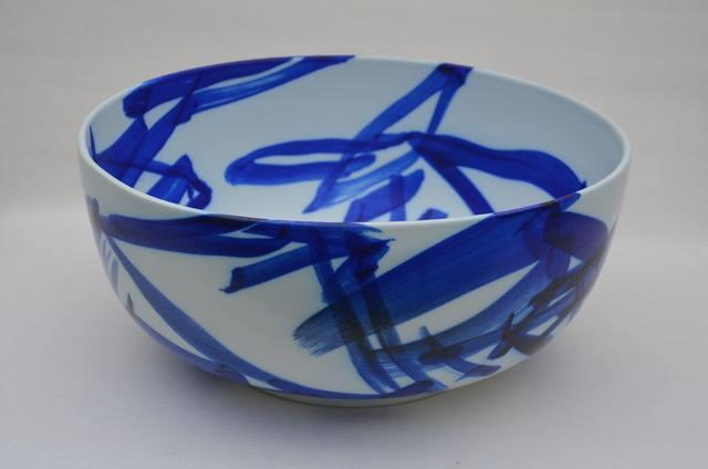 , 'Calligraphic Porcelain bowl,' 2014, Galerie Maria Wettergren