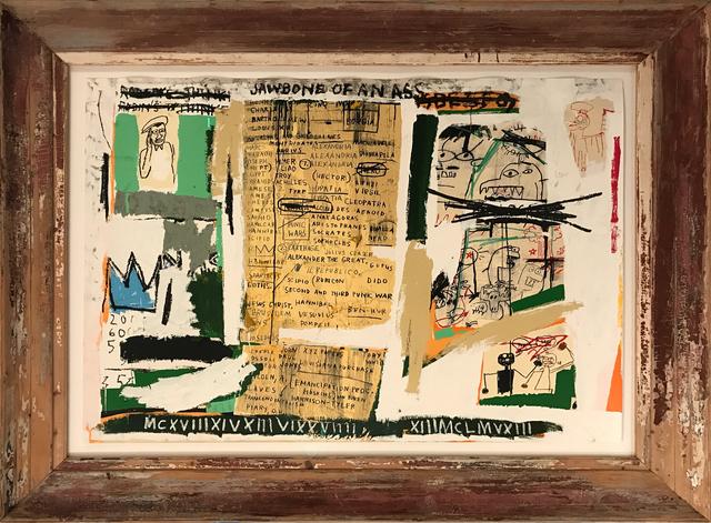 , 'Jawbone of an Ass,' 1982, Galerie Kronsbein