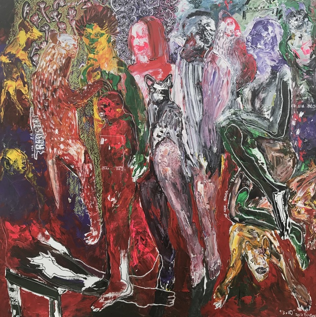 , 'Des Hommes et Des Vies I,' 2017, Sulger-Buel Lovell