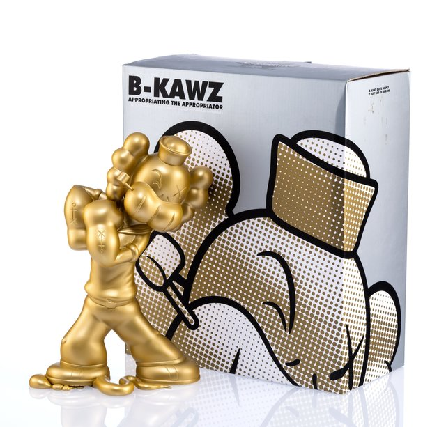 Necessaries Toy Foundation, 'B-KAWZ: Appropriating the Appropriator (Gold)', 2010, Heritage Auctions