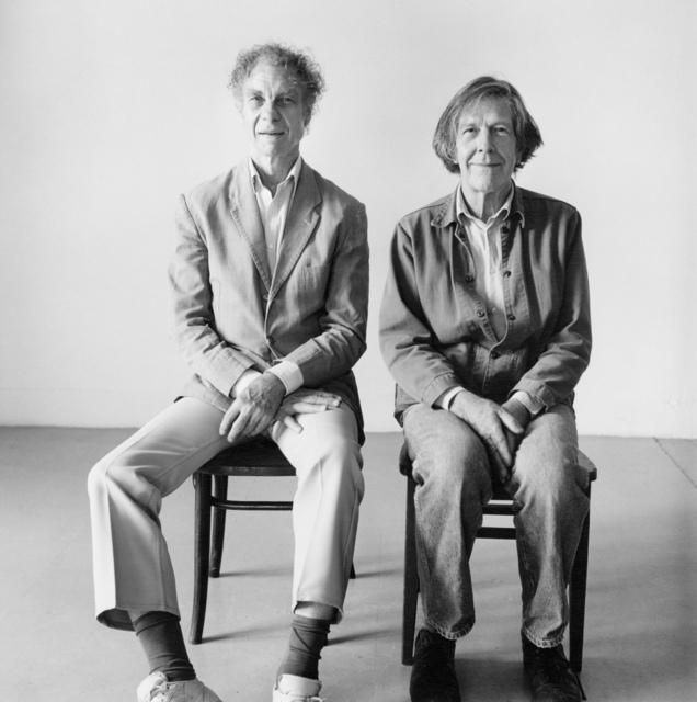 Peter Hujar, 'Merce Cunningham and John Cage Seated', 1986, Fraenkel Gallery