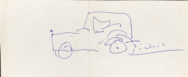 Pablo Picasso, 'Automobile ', 1962, Fairhead Fine Art Limited