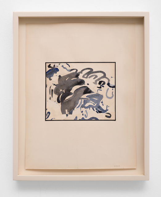 Claire Oswalt, 'Mutable Histories 2', 2020, Drawing, Collage or other Work on Paper, Acrylic on collaged paper, Lora Reynolds Gallery