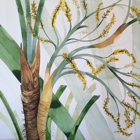 Idoline Duke, 'Palm Detail I', 2016, ARC Fine Art LLC