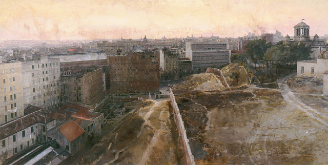 , 'Madrid Hacia el Observatorio (Madrid Towards the Centre),' 1965-1970, Museo Thyssen-Bornemisza