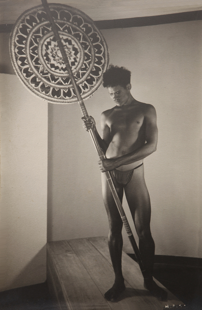 , 'Untitled (Man holding a sestha),' ca. 1935, Jhaveri Contemporary