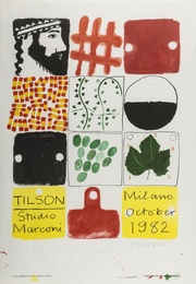 Joe Tilson, 'Studio Marconi Poster,' 1989, Forum Auctions: Editions and Works on Paper (March 2017)