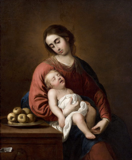 , 'VIRGIN WITH CHILD,' , Colnaghi