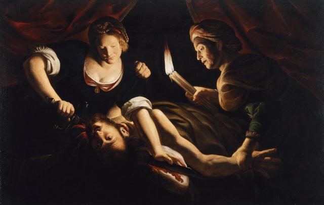 Trophime Bigot, 'Judith Cutting Off the Head of Holofernes', ca. 1640, Walters Art Museum