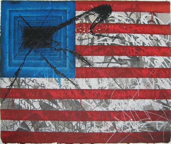 Saber, 'REBEL FLAG', 2010, David Lawrence Gallery