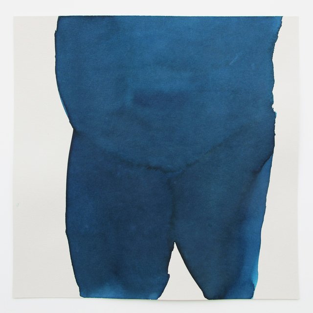 , 'Earthly Blue,' 2014, V1 Gallery