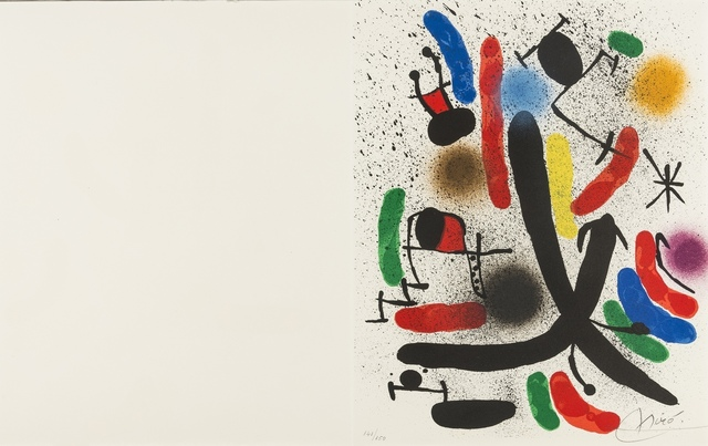 Joan Miró, 'From 'Lithography I' (Mourlot 855)', 1972, Forum Auctions