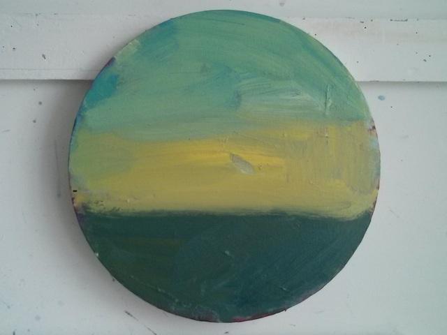 , 'Yellow Sky,' 2015, SEA Foundation