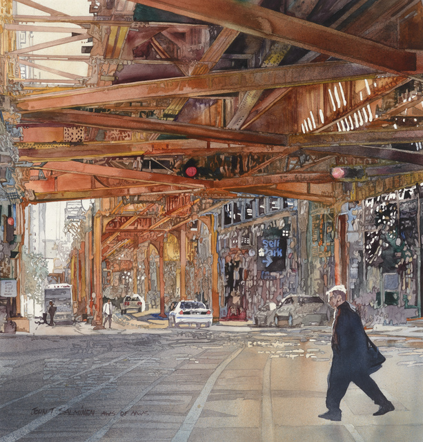 , 'Chicago, Wacker Drive,' , Stremmel Gallery