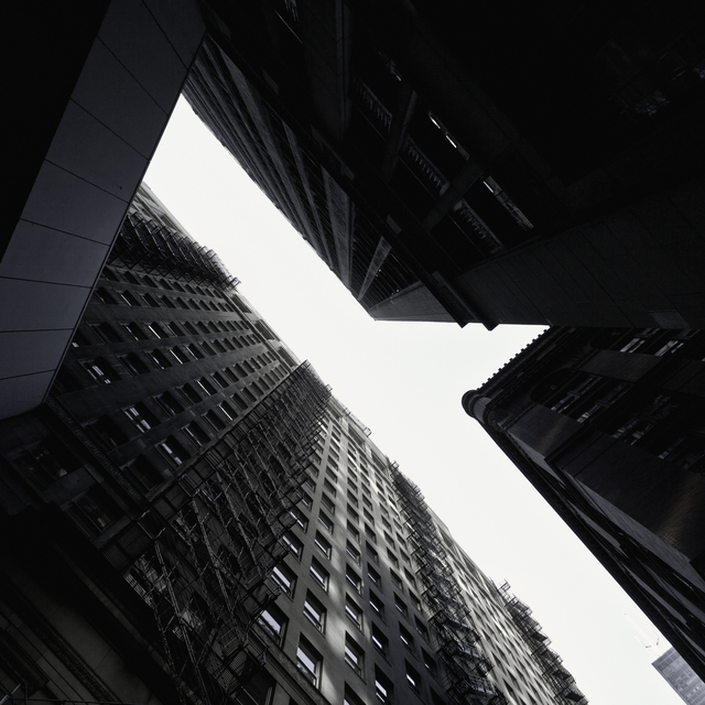 Kely McClung, 'Falling Up – Chicago Alleys #60', 2016, Michael Warren Contemporary