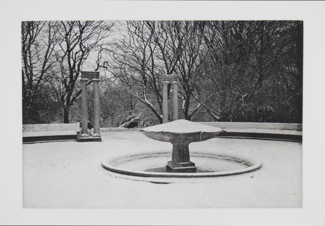 , 'Fountain,' 2016, Manneken Press
