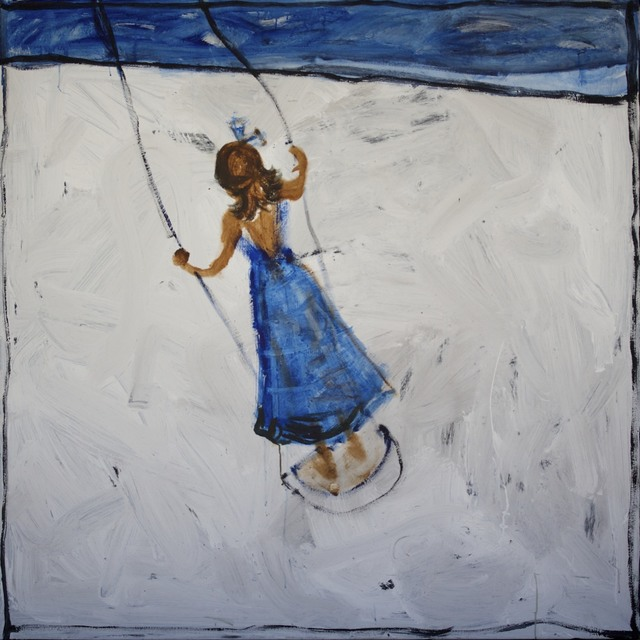 , 'Girl on a swing I,' 2014, Wentworth Galleries