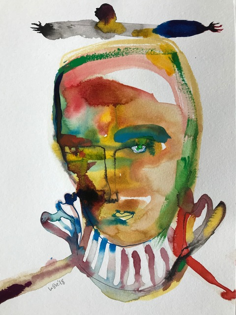Wole Lagunju, 'Ancestral IV ', 2017, Ed Cross Fine Art