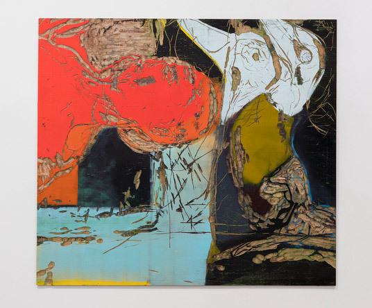 , 'Cabeça vermelha [Red head],' , Galeria Marilia Razuk