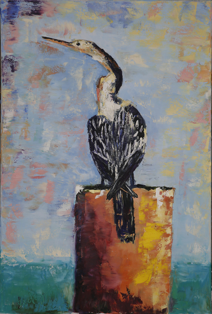 , 'Anhinga,' 2018, Geoffrey C. Smith Galleries