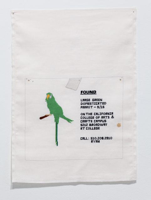 , 'Found Large Green, Broadway,' 2010, Anglim Gilbert Gallery