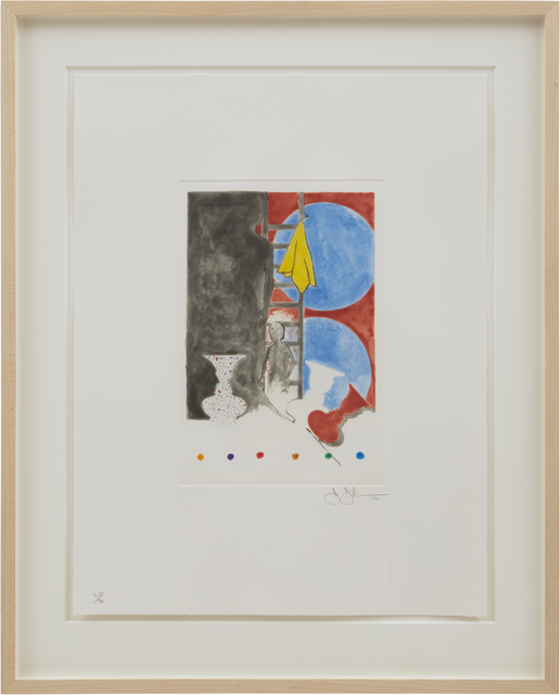 Jasper Johns, 'Untitled', 2012, Matthew Marks Gallery