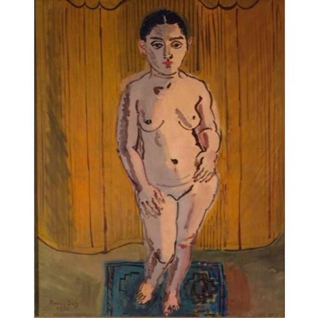 , 'Nu sur fond jaune (La Javannaise),' 1930, Grob Gallery