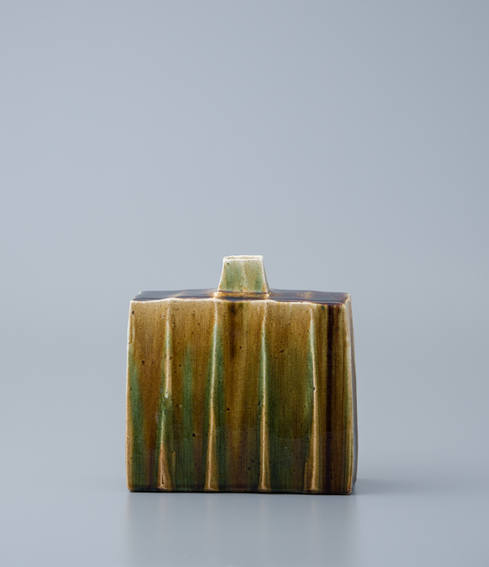, 'Rectangular vase, oribe glaze,' , Pucker Gallery