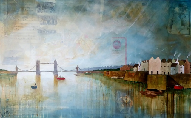 , 'The Chartered Thames,' 2018, Quantum Contemporary Art