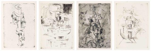 Pablo Picasso, 'Max Jacob, Saint Matorel, Henry Kahnweiler, Paris, 1911', Christie's