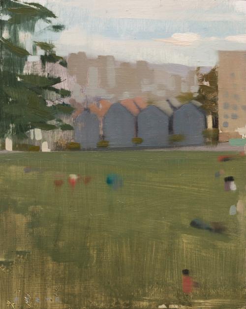 , 'Alamo Square,' 2015, Abend Gallery