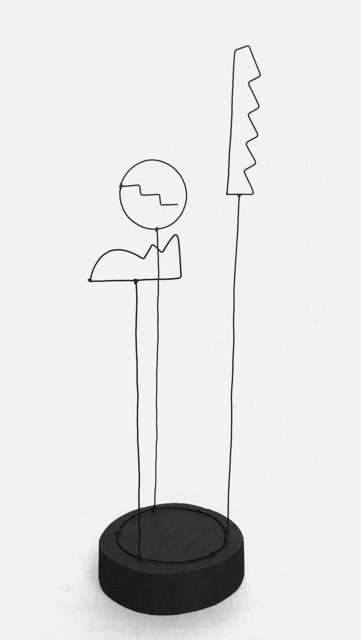 , 'Wire Study I,' 2017, Uprise Art
