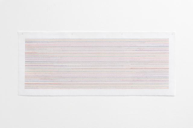 , 'Study, trickle stitch,' 2018, OSL Contemporary
