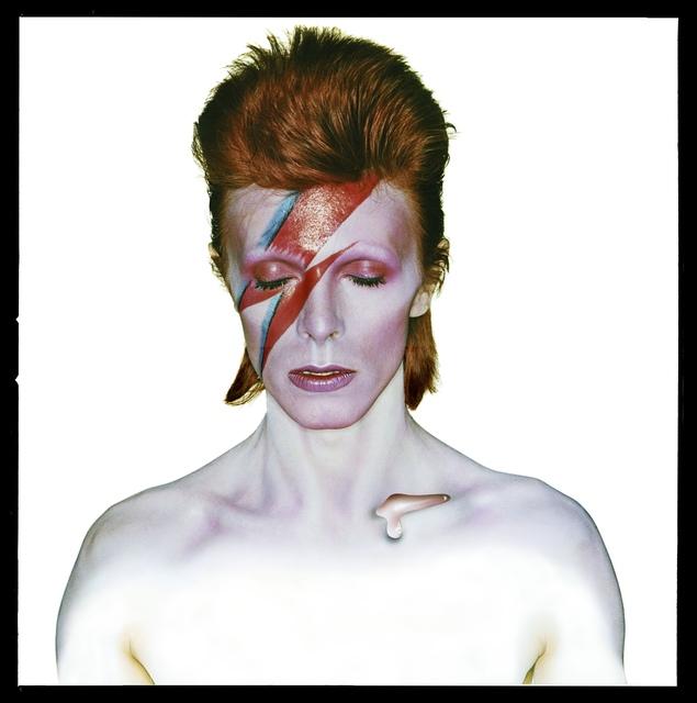 , 'David Bowie: Aladdin Sane (Album Cover),' 1973, ElliottHalls