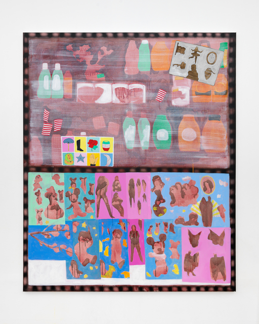 , 'Charada, Loteria, and Stickers,' 2017, Linda Matney Gallery