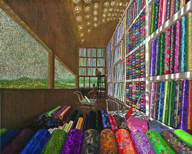 , 'Silk Dealer Mr.Wang-High-rise Shop,' 2010, Leehwaik Gallery
