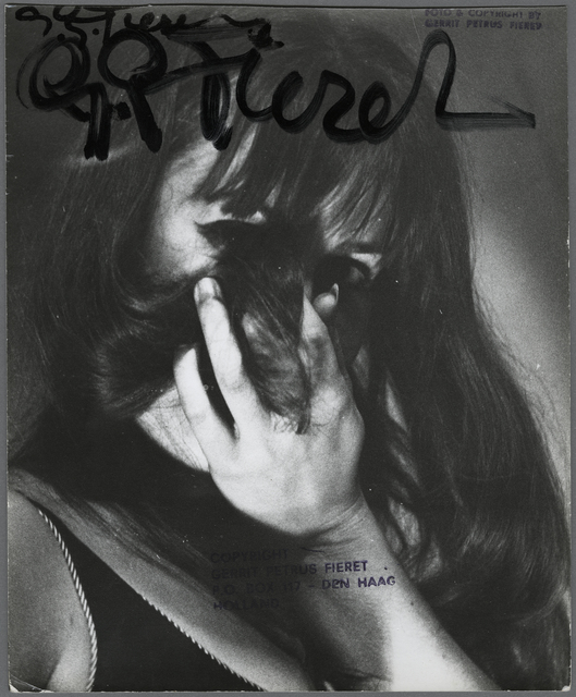 , 'Untitled (woman holding her hair in front of her face),' 1965-1975, GALLERY FIFTY ONE