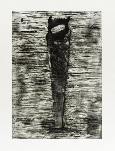 Jim Dine, 'Saw', 1976, Drawing, Collage or other Work on Paper, Etching on paper, Bethesda Fine Art