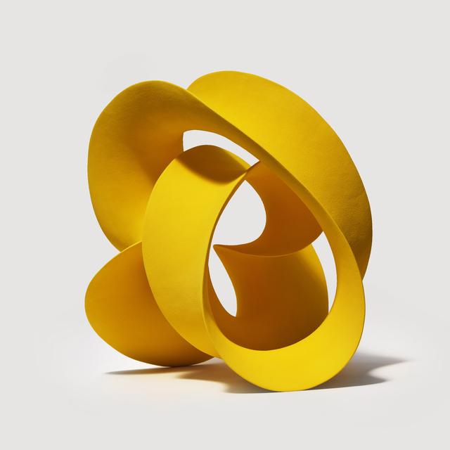 , 'Yellow Twisted Loop,' 2016, J. Lohmann Gallery