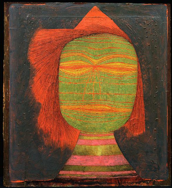 , 'Masque de (Jeune)=Comédien,' 1924, Centre Pompidou