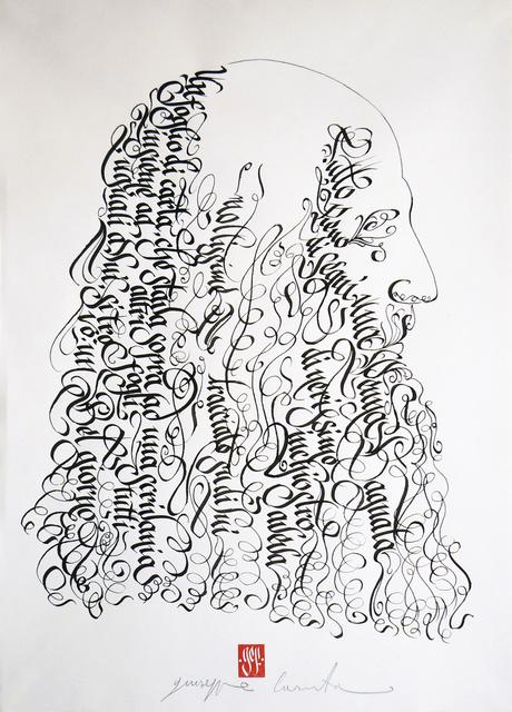 , 'Leonardo Da Vicni,' 2015, Galleria Quadrifoglio