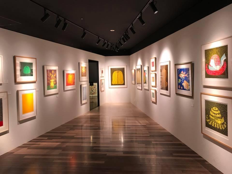 Yayoi Kusama and International Contemporary Artists' Artwork