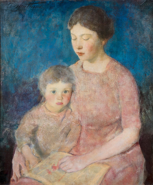 , 'The Story Book,' ca. 1917, Vose Galleries
